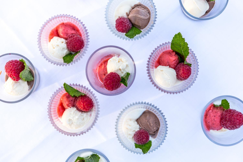 Buffet de glaces