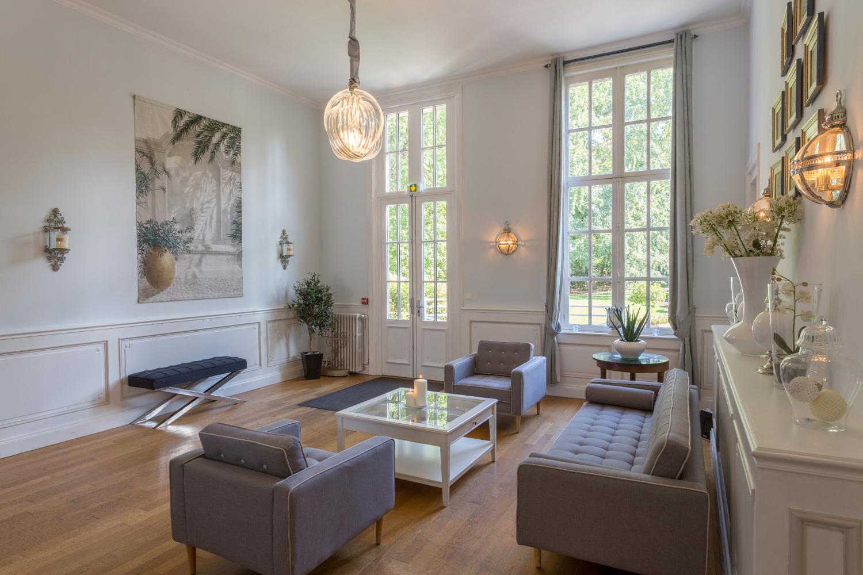 les salons du Château de Prémesques, lieu idéal pour vos réunions d'entreprises