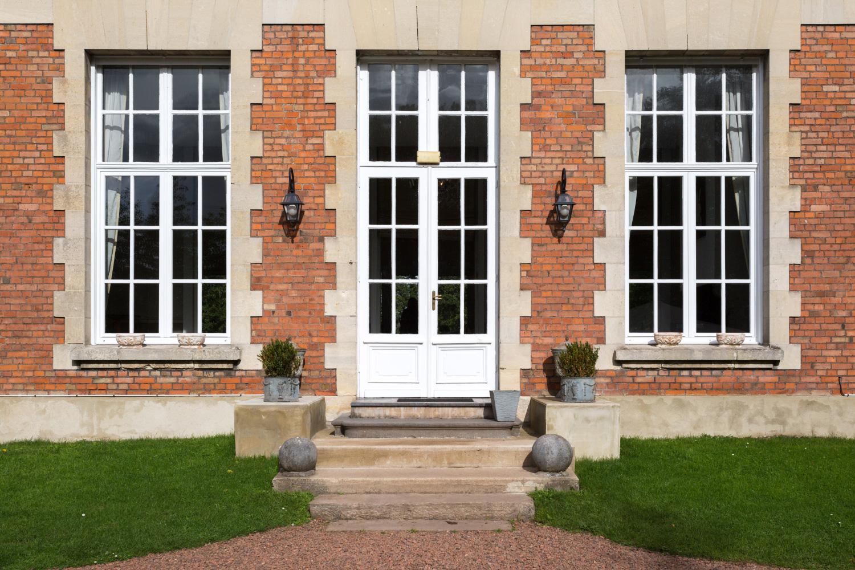 Porte d'entrée du Château de Prémesques